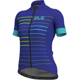 Alé Cycling Solid Ergo SS Jersey Women pure blue-turquoise